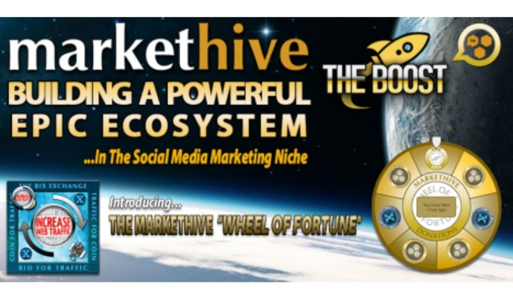 Markethive Introduces The Wheel Of Fortune For Its Growing Ecosystem