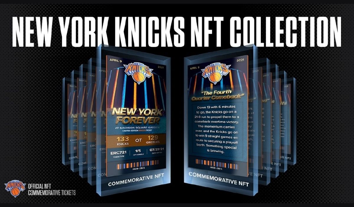 NFT Platform Sweet launches New York Knicks Limited NFT Collection kicking off the NFT-frenzy