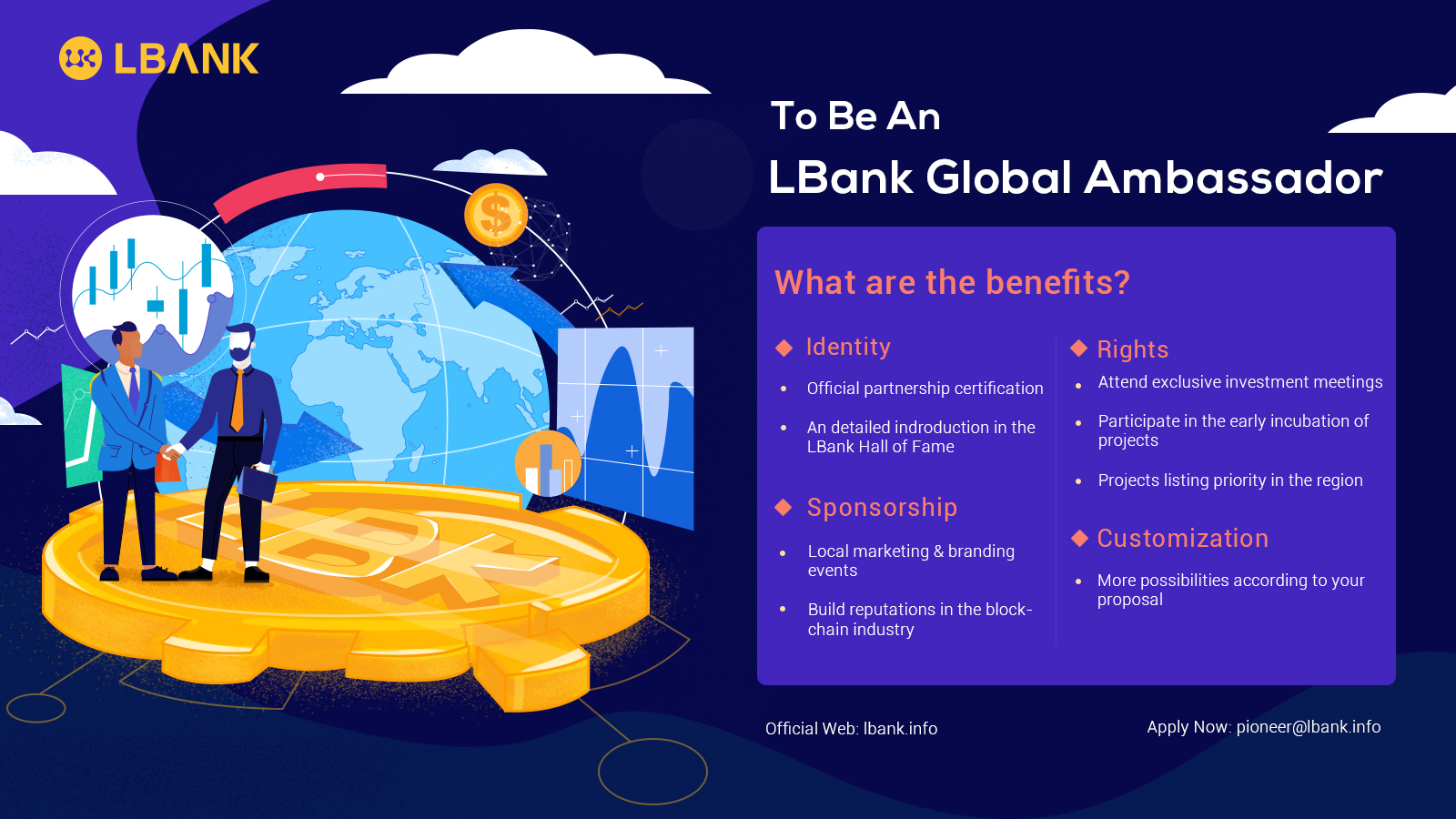 LBank Is Recruiting Global Ambassadors To Share In Its Growth