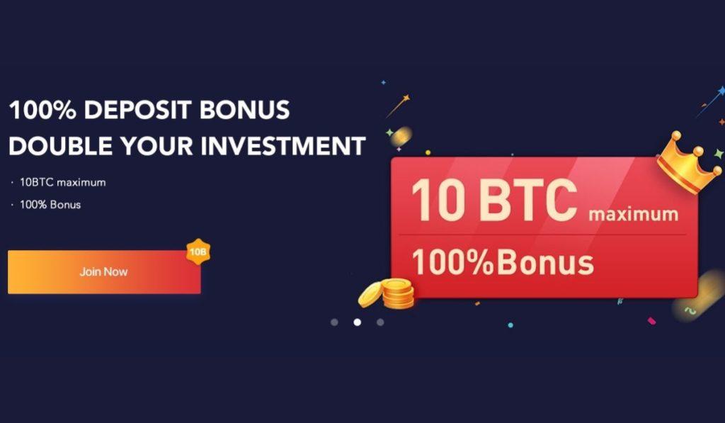 Bexplus launches 100% Bonus On USDT, BTC, ETH, XRP, LTC, EOS Deposits