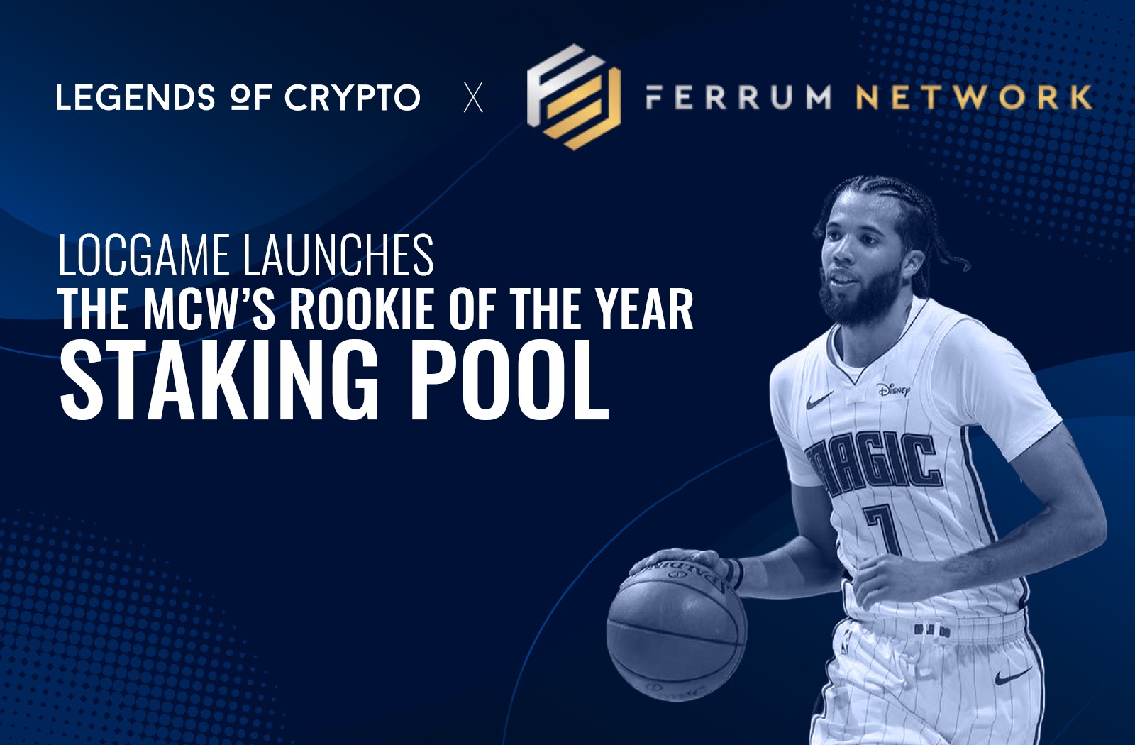 """LOCGame Partners with Ferrum Network to Launch New Staking Program; """"MCW's Rookie Of The Year Pool"""""""