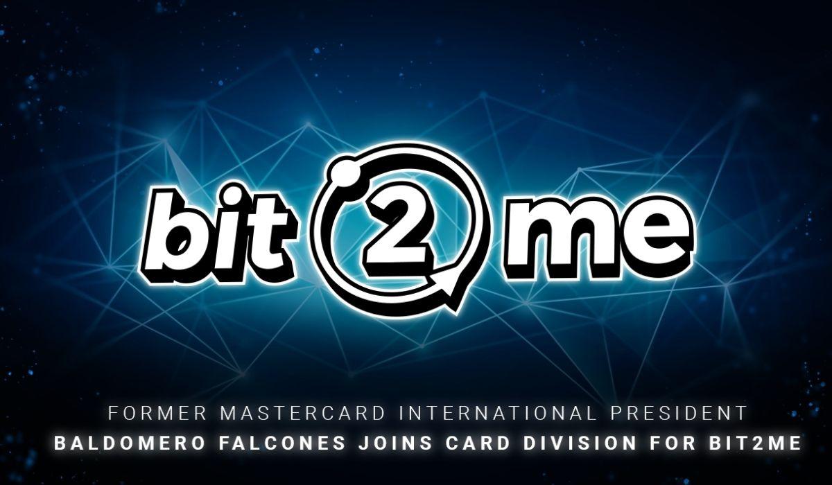 Бывший президент Mastercard International Балдомеро Фальконес присоединяется к Bit2Me в качестве старшего советника