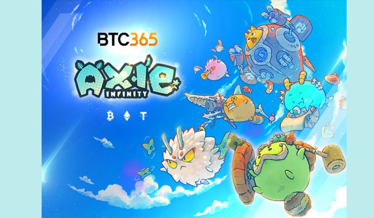 BTC365: Earn from Playing Games like Axie Infinity