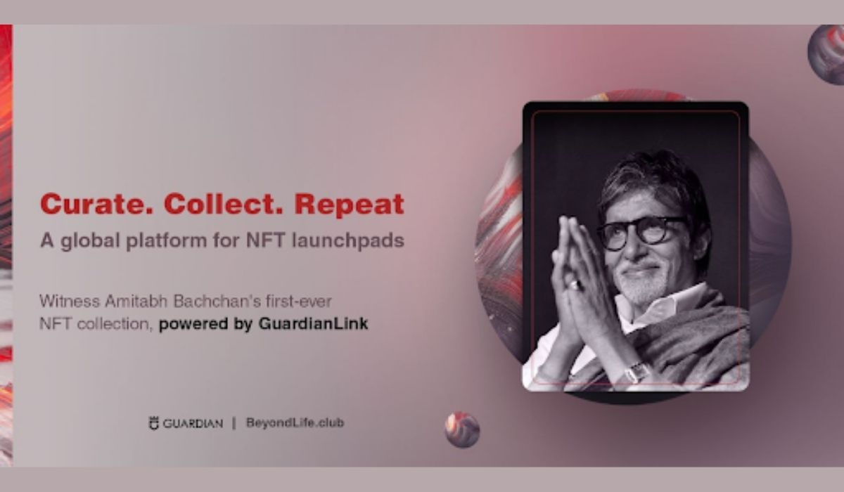 Guardian Link Partners with BeyondLife.Club, Launches Amitabh Bachchan's First-ever NFT Collection