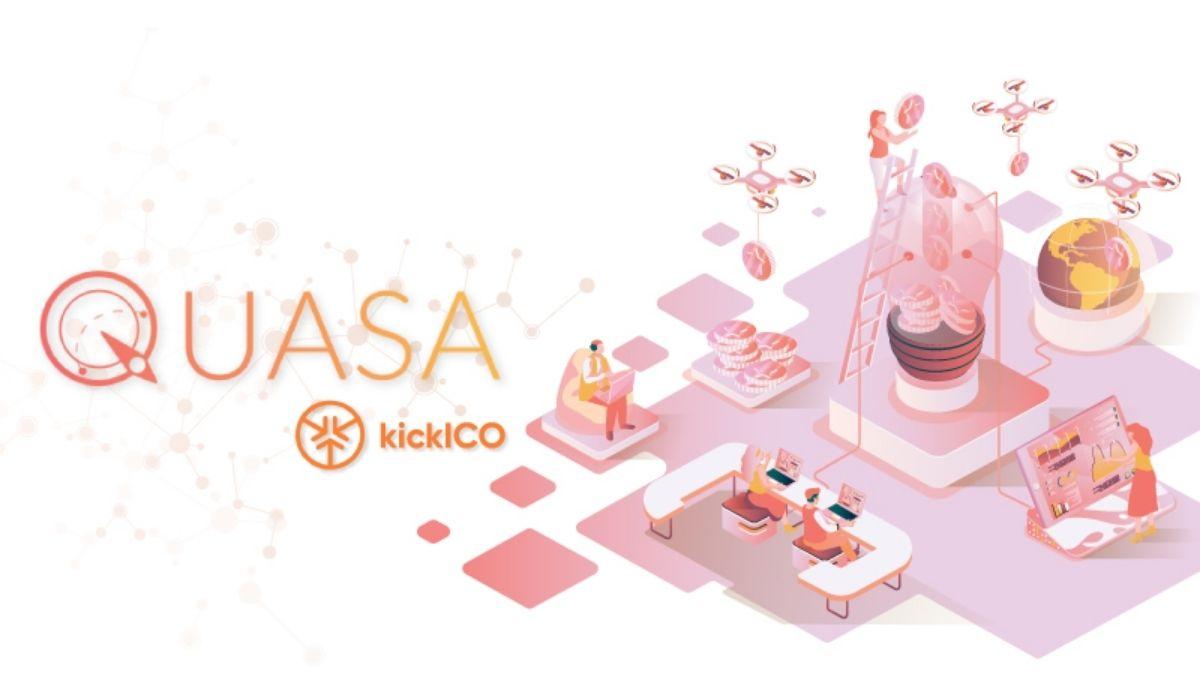 QUASA AIO Crypto-crowdfunding Second Round, QUA Listing on KickEX