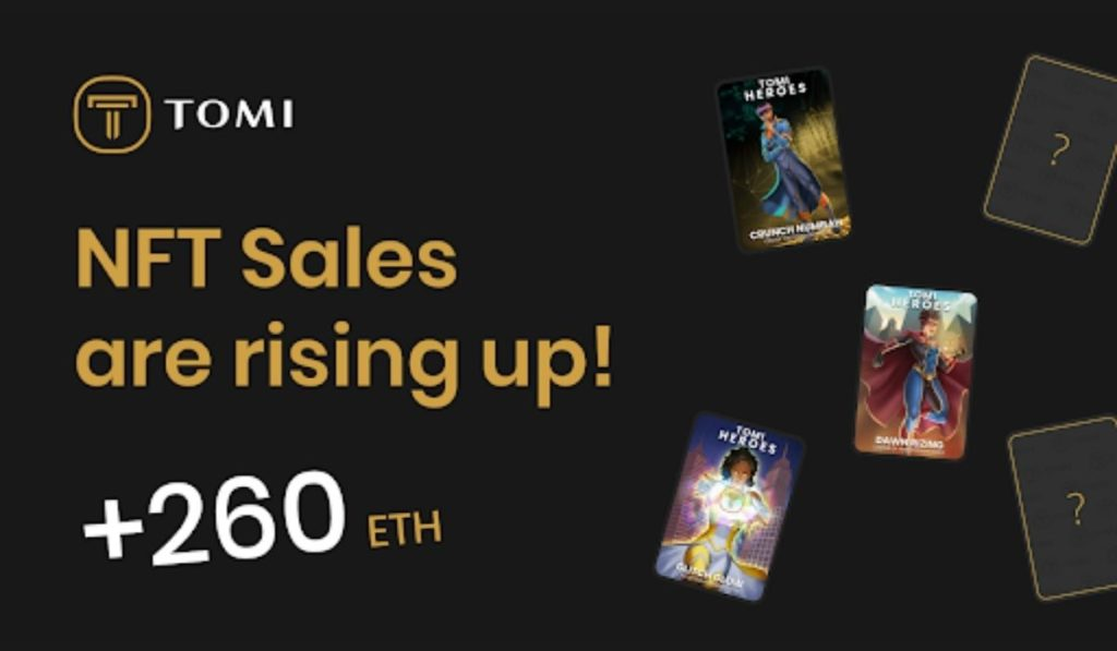 TOMI Releases Its Third NFT Collection As Public Sale Approaches