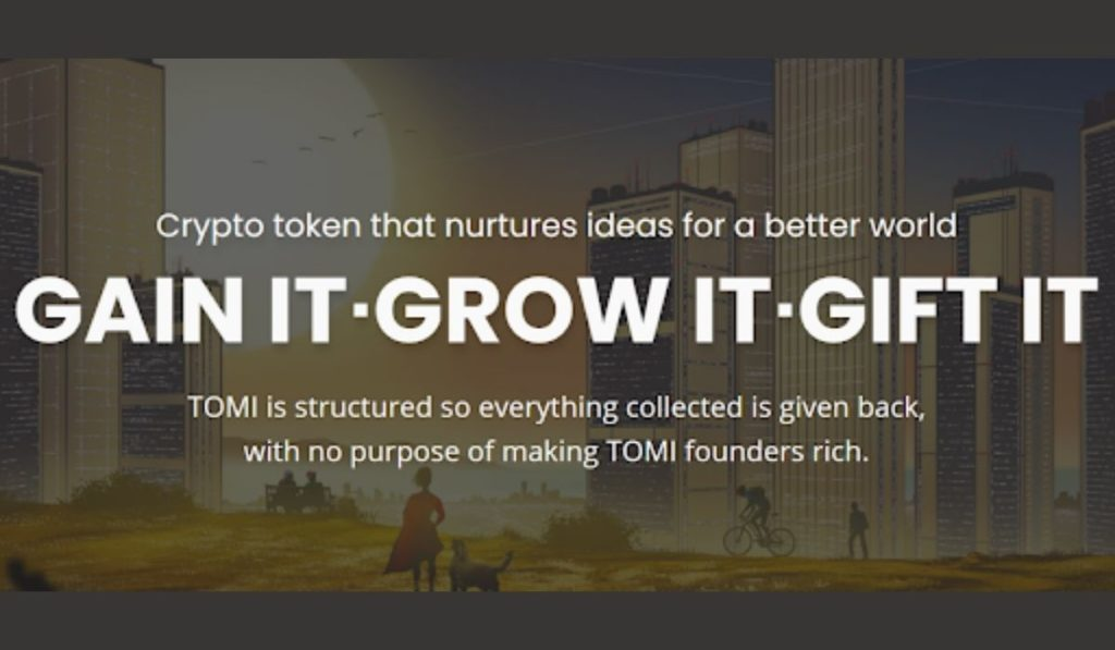 TOMI Token Sets Off To Greater Heights Following Successful IDO And NFT Sale