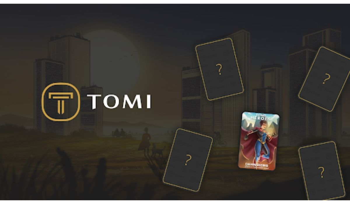 Tomi Token Unveils Its First NFTs to Enable Investors Access Presale Round