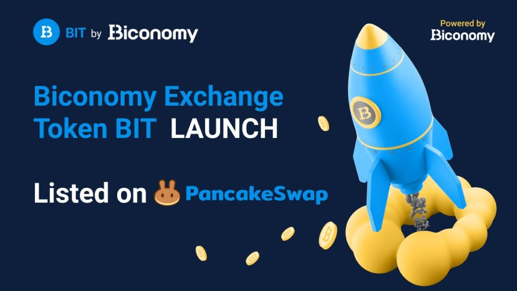 Canadian Biconomy Exchange Launched native Token - BIT
