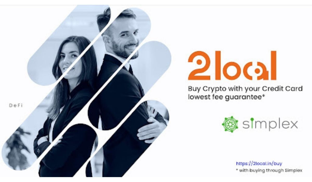 2local Exchange Forms Partnership With Simplex to Help Facilitate Buying Crypto With The Lowest Fees