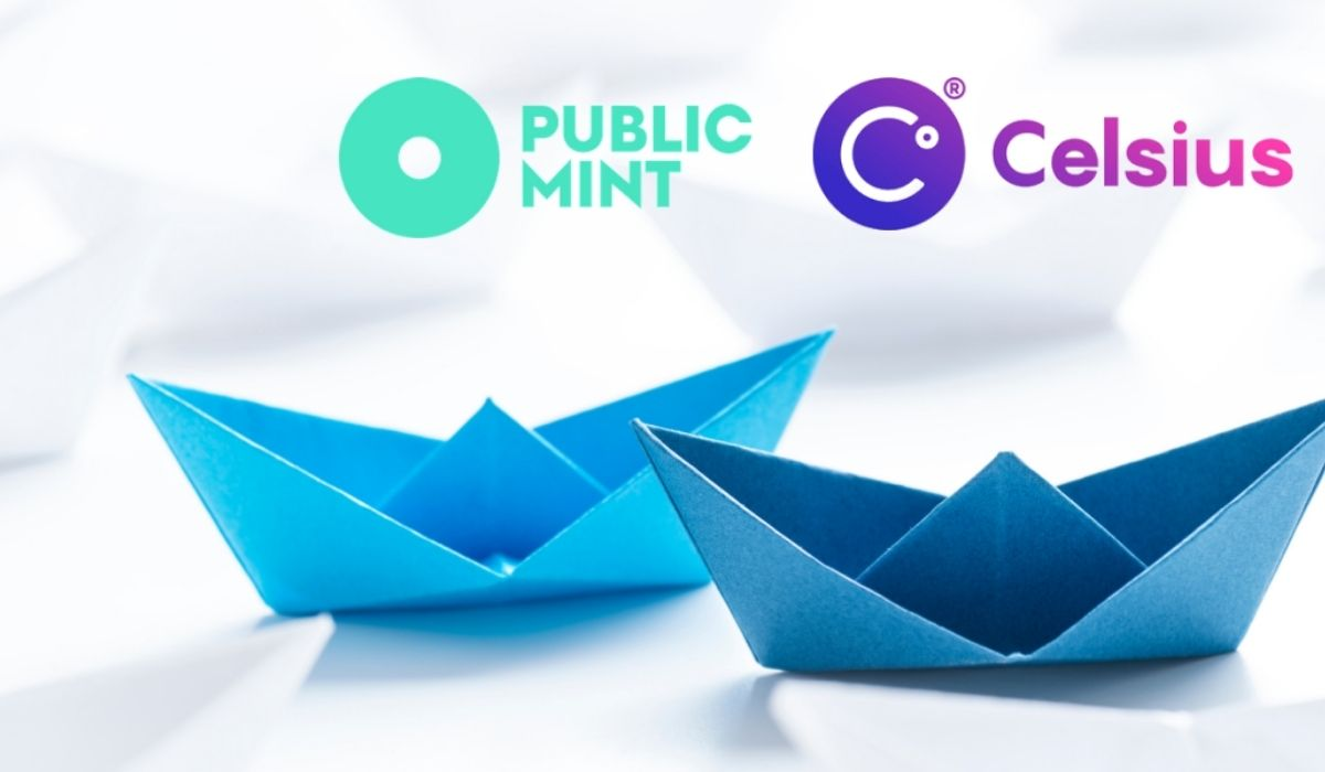 A Powerful New Partnership For Public Mint and Celsius, Brings Fans of Yield a New Proposition