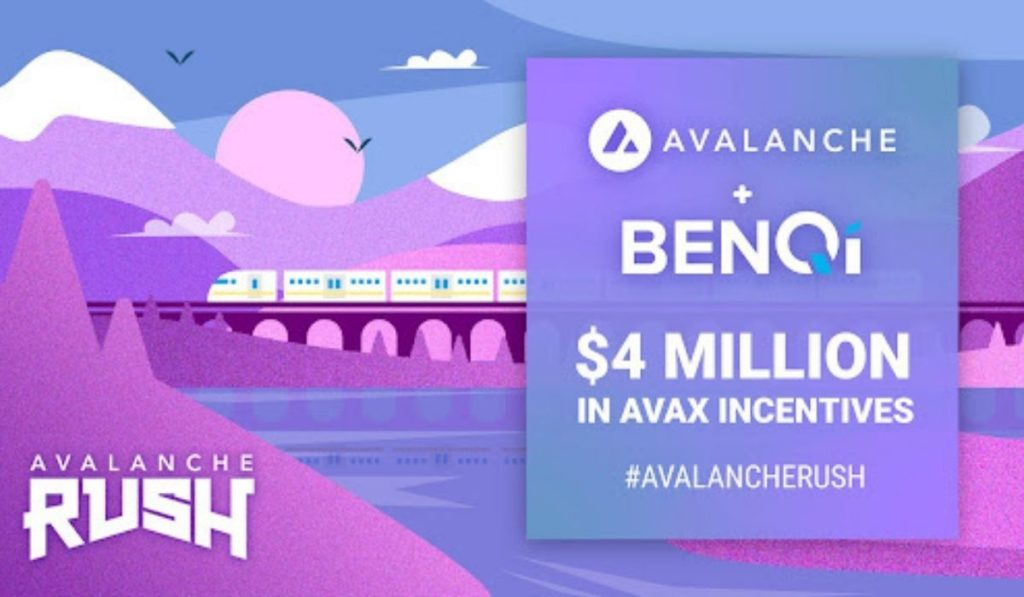 BENQI Announces Phase 2 Of The Avalanche Rush Liquidity Mining Incentive Program