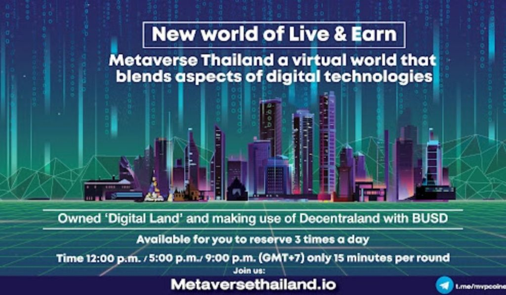 Metaverse Thailand: New Virtual World For Land Owners